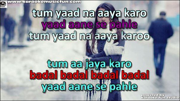 tum yaad na aaya karo