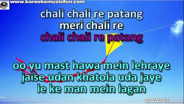 chali chali re patang