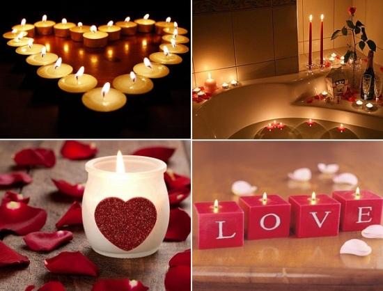 украшать комнату свечами картинки берегу они