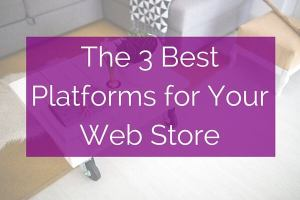 The 3 Best Platforms for Your Web Store