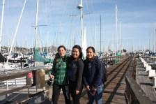 Francesca, Kara, and Gracie