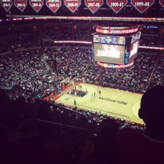 Wizards/Nets Game