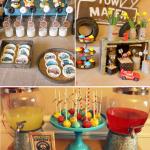 Kara S Party Ideas Vintage Radiator Springs Cars Boy Disney Birthday Party Planning Ideas