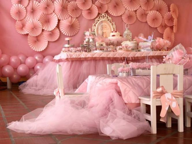 Kara 39 S Party Ideas Pink Ballerina Birthday Via