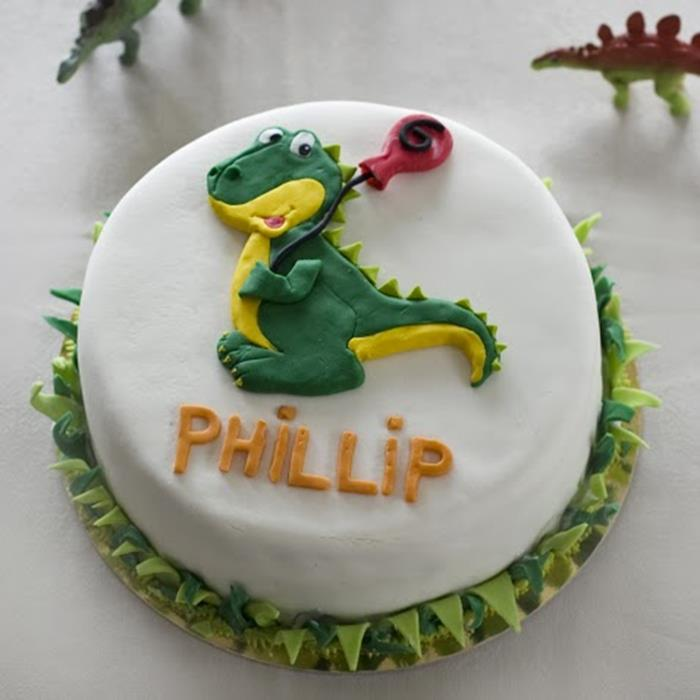 Karas Party Ideas Dinosaur Themed 6th Birthday Party With