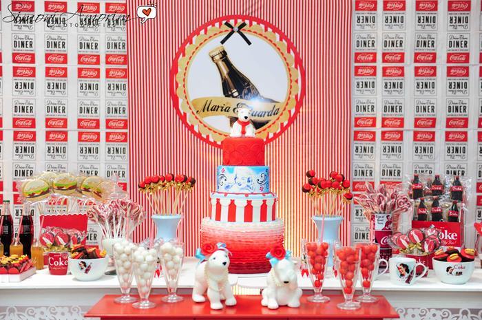 Kara S Party Ideas Coca Cola Party Planning Ideas