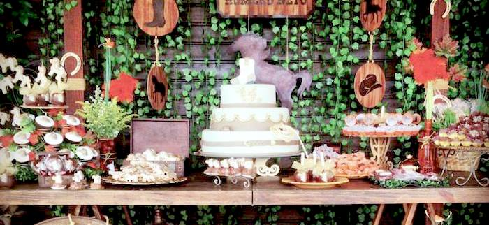 Kara S Party Ideas Horse Themed Birthday Party Ideas