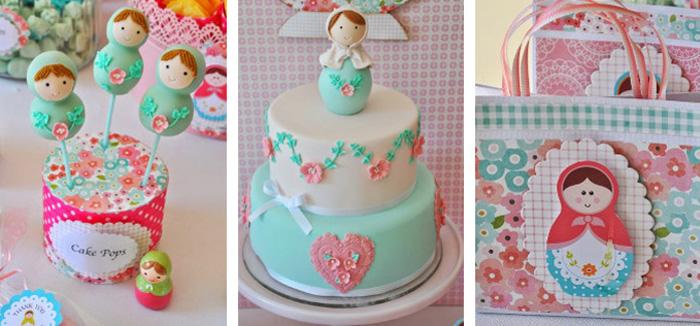 Kara S Party Ideas Matryoshka Doll Themed Birthday Party