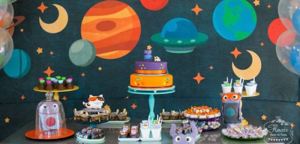 Kara's Party Ideas Home Inspired Alien Birthday Party