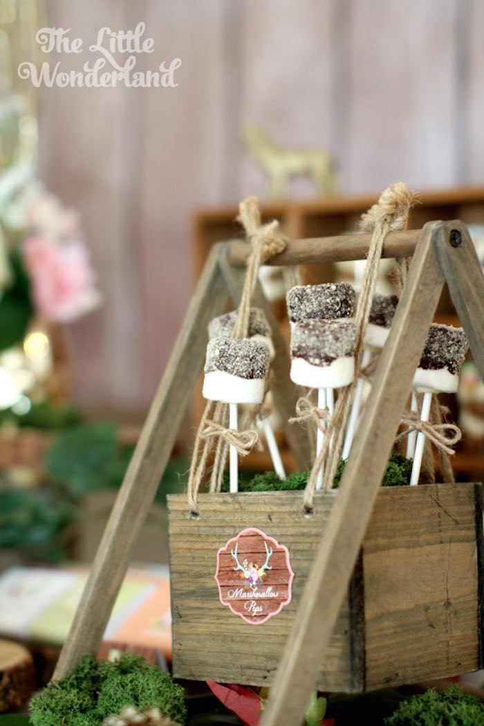 Karas Party Ideas Whimsical Woodland Camping Party Via Karas Party Ideas
