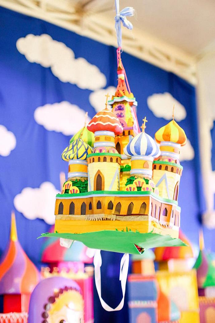 Karas Party Ideas Hanging Russian Palace Decoration From