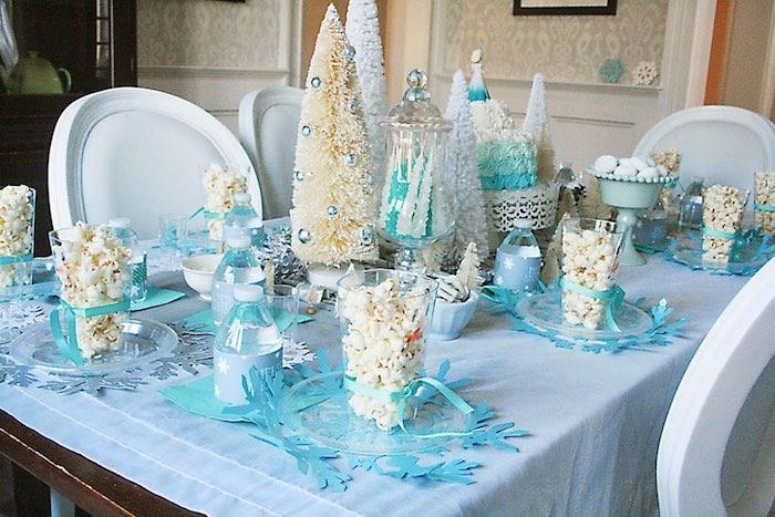 Karas Party Ideas Frozen Hot Chocolate Birthday Party