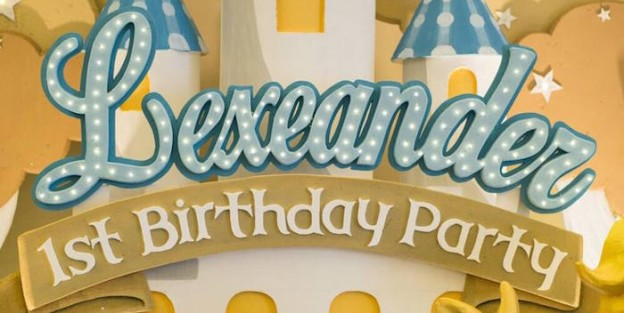Karas Party Ideas Royal Prince 1st Birthday Party