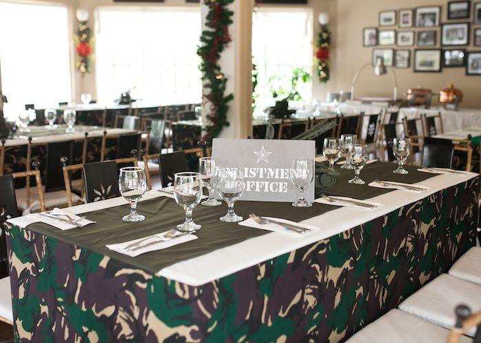Karas Party Ideas Military Army Birthday Party Karas
