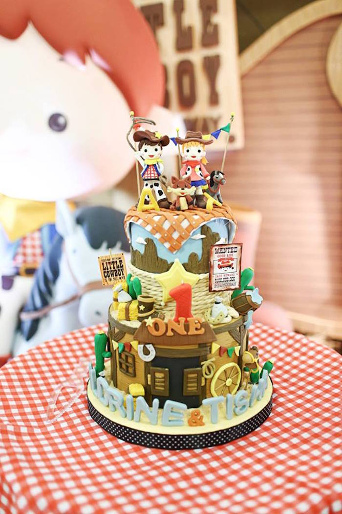 Cowboy Birthday Cakes Images The Best Cake Of 2018