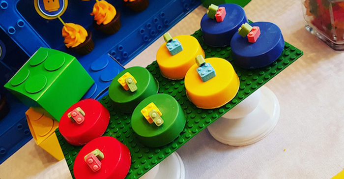 Karas Party Ideas Bright Amp Colorful Lego Birthday Party