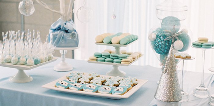 Karas Party Ideas Arctic Winter ONEderland Birthday Party