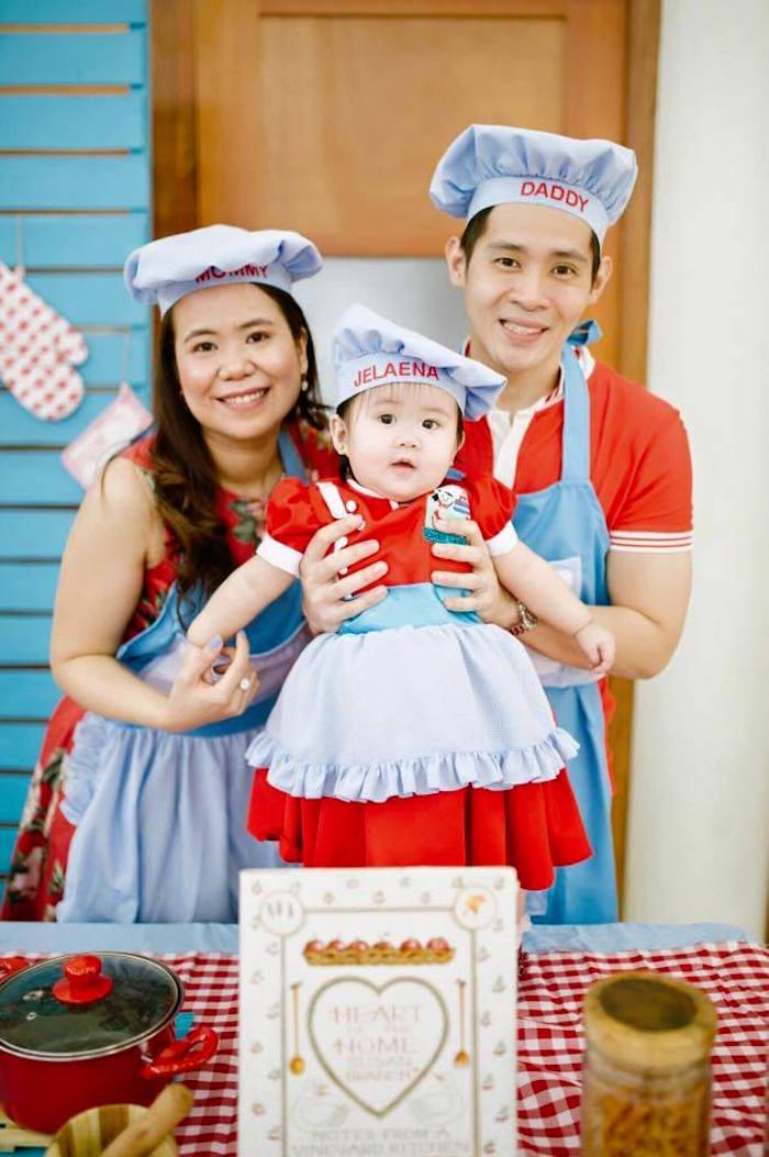 Kara S Party Ideas Little Chef Birthday Party Kara S