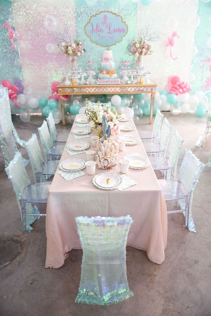 Kara S Party Ideas Mermaid Oasis Themed Birthday Party