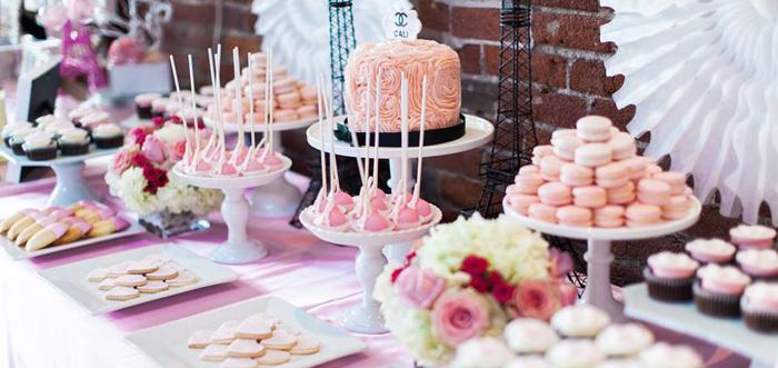 Karas Party Ideas Pink Paris 1st Birthday Party Karas Party Ideas