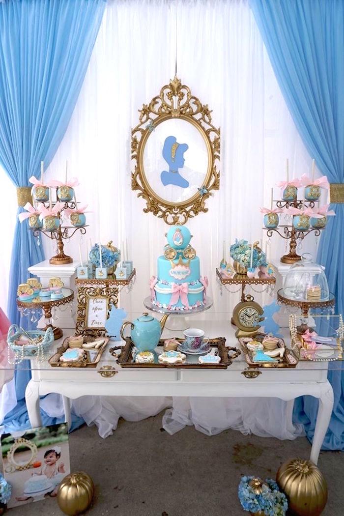 Karas Party Ideas Fairy Godmother Cinderella Birthday Karas Party Ideas