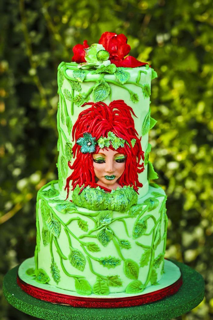 Kara S Party Ideas Poison Ivy Birthday Party Kara S