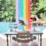 Kara S Party Ideas Sparkly Rainbow Unicorn Birthday Party Kara S Party Ideas