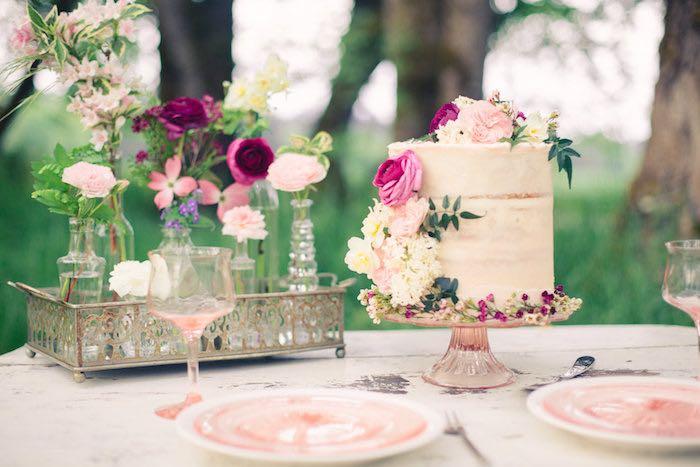 Karas Party Ideas Whimsical Rustic Floral Wedding Kara