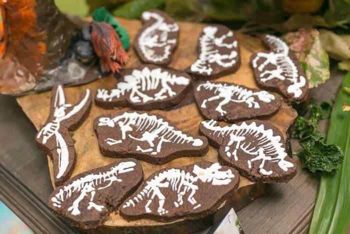 Cake Skeleton Dinosaur