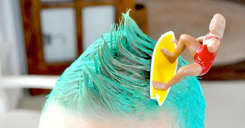 Karas Party Ideas Crazy Hair Day Ideas Surfs Up Bugs