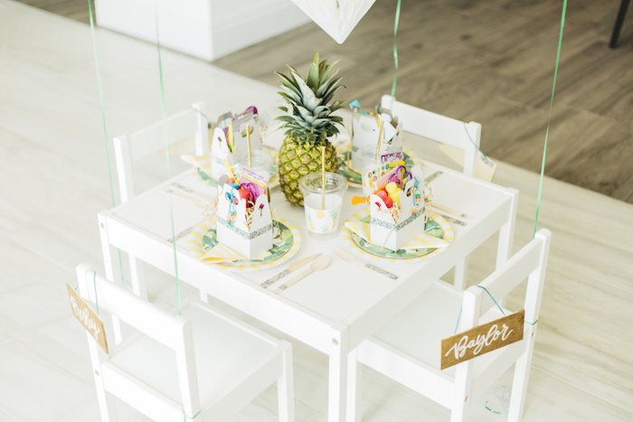 Kara S Party Ideas Modern Tropical Quot Cheers To Sixty