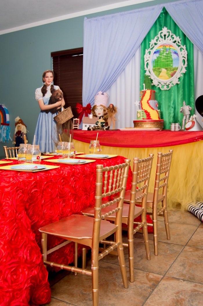 Kara S Party Ideas Special Wizard Of Oz Birthday Party
