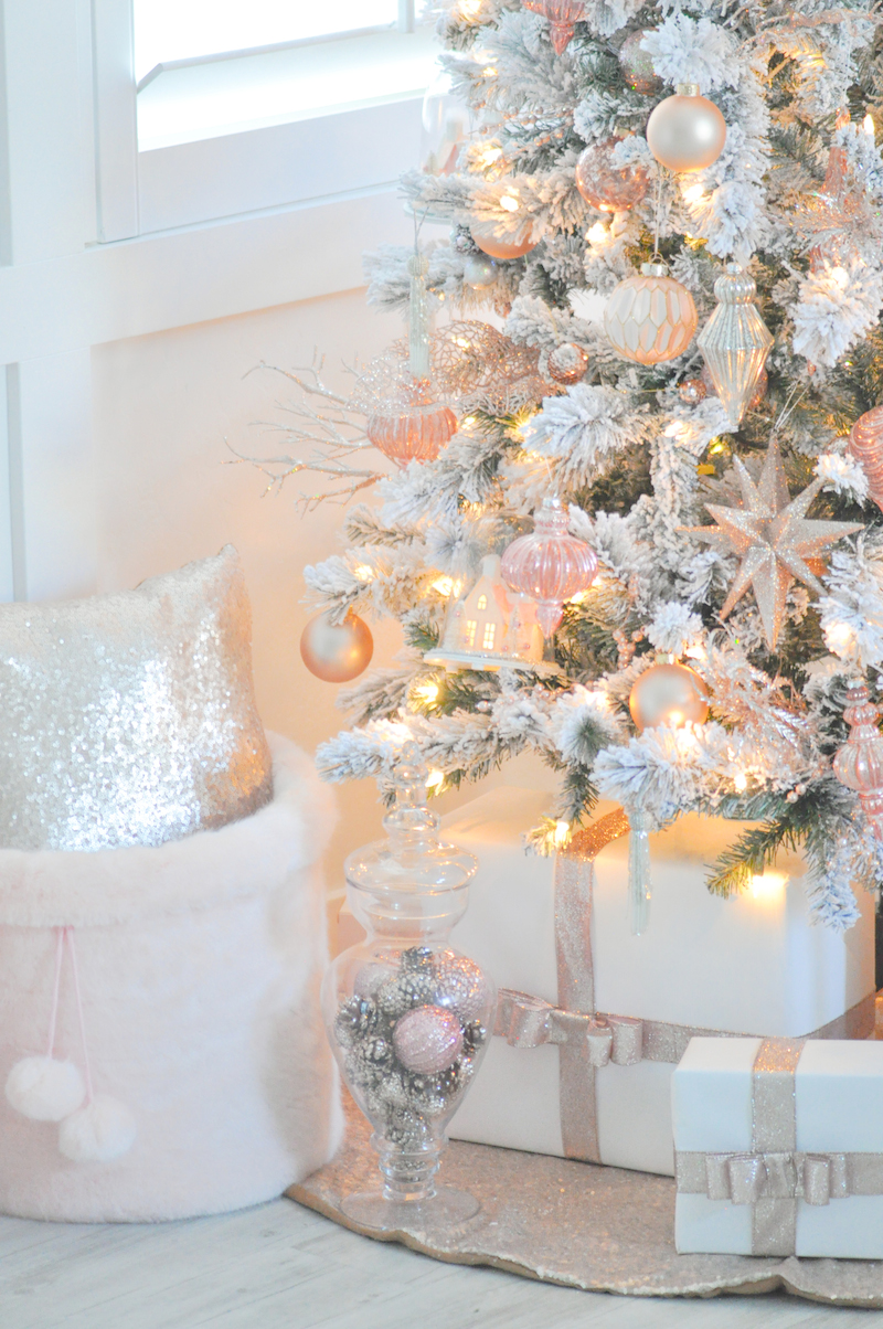 Pink And White Christmas Decorations Wwwindiepediaorg