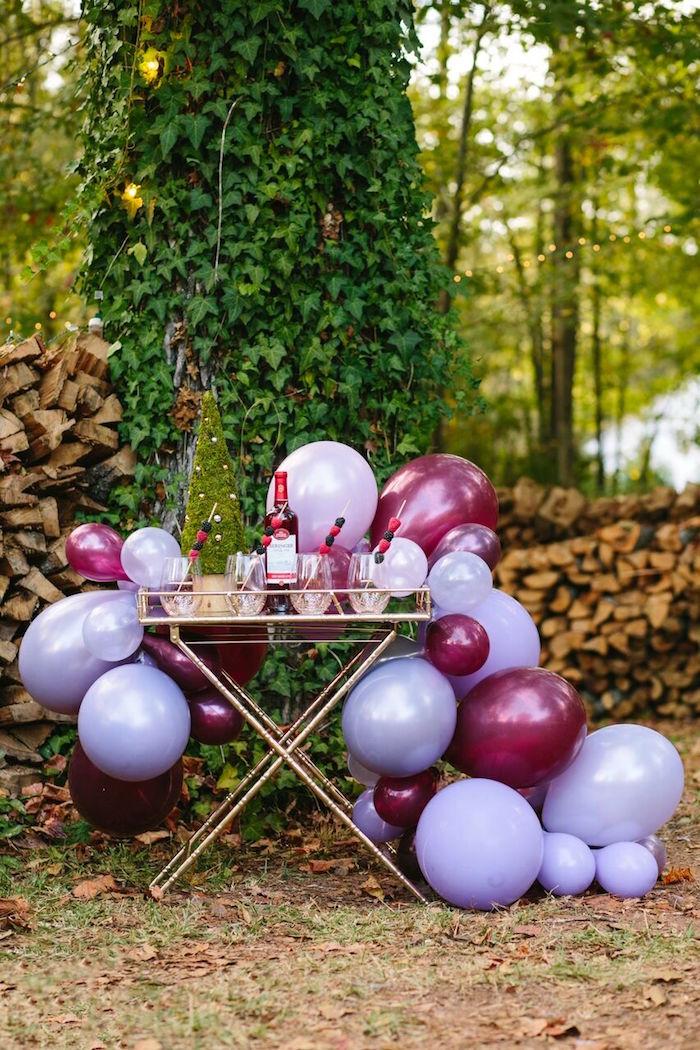 Karas Party Ideas Floral Woodsy Wonderland Party