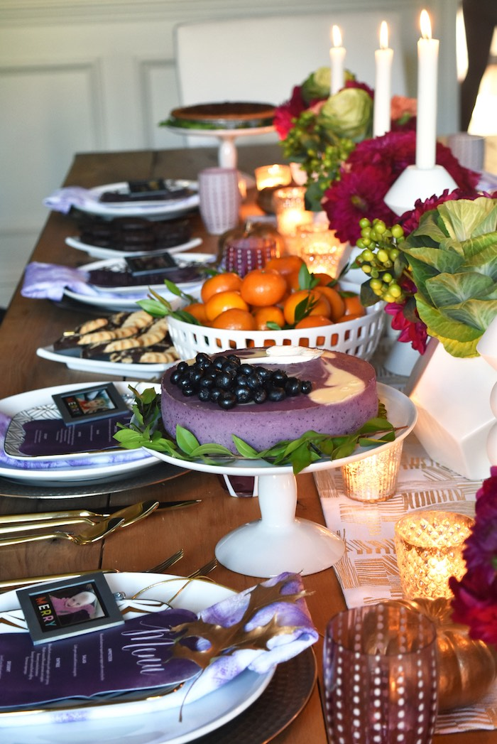 Karas Party Ideas Friendsgiving Dinner Party Karas