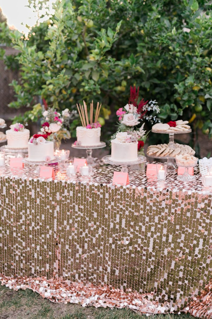 Kara S Party Ideas Sparkly 30th Birthday Bash Kara S