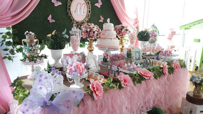 Karas Party Ideas Beautiful Butterfly Birthday Party