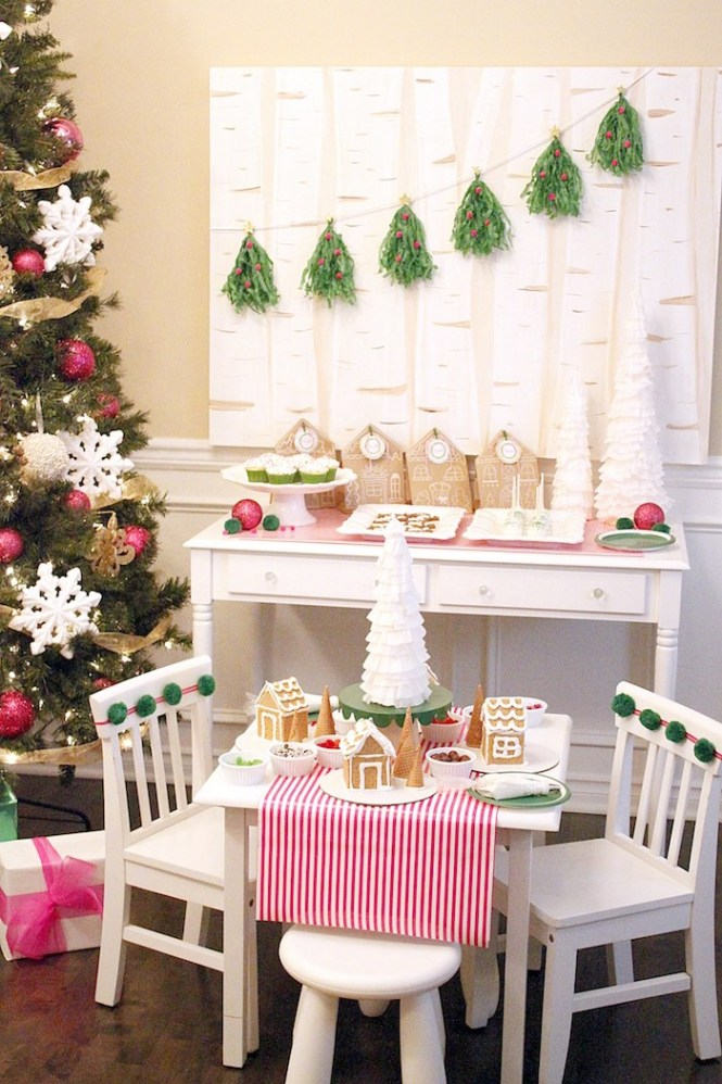 Gingerbread House From A Decorating Party Via Kara 39 S Ideas Karaspartyideas Com