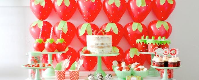 Kara S Party Ideas Berry Sweet Strawberry Valentine S Day