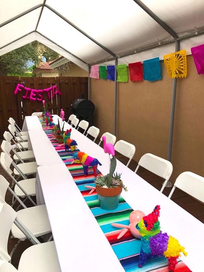 Karas Party Ideas Cactus Amp Flamingo First Birthday Fiesta