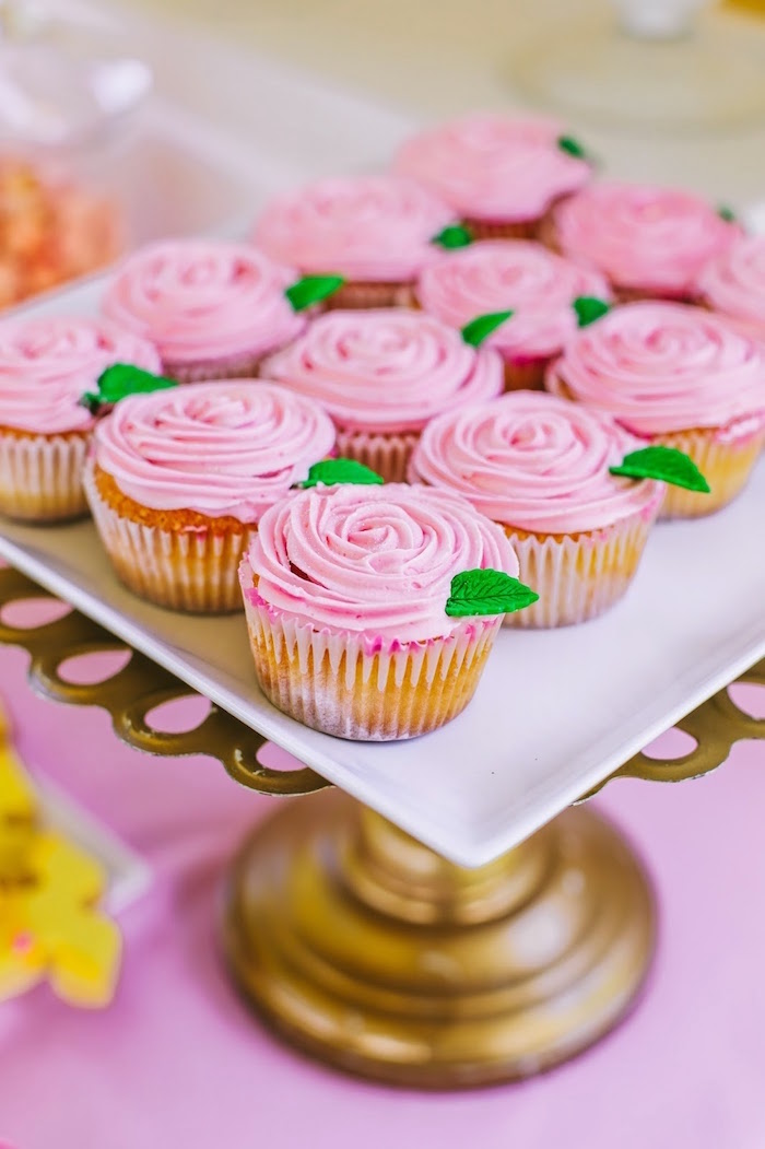 Gold Cupcake Decorations