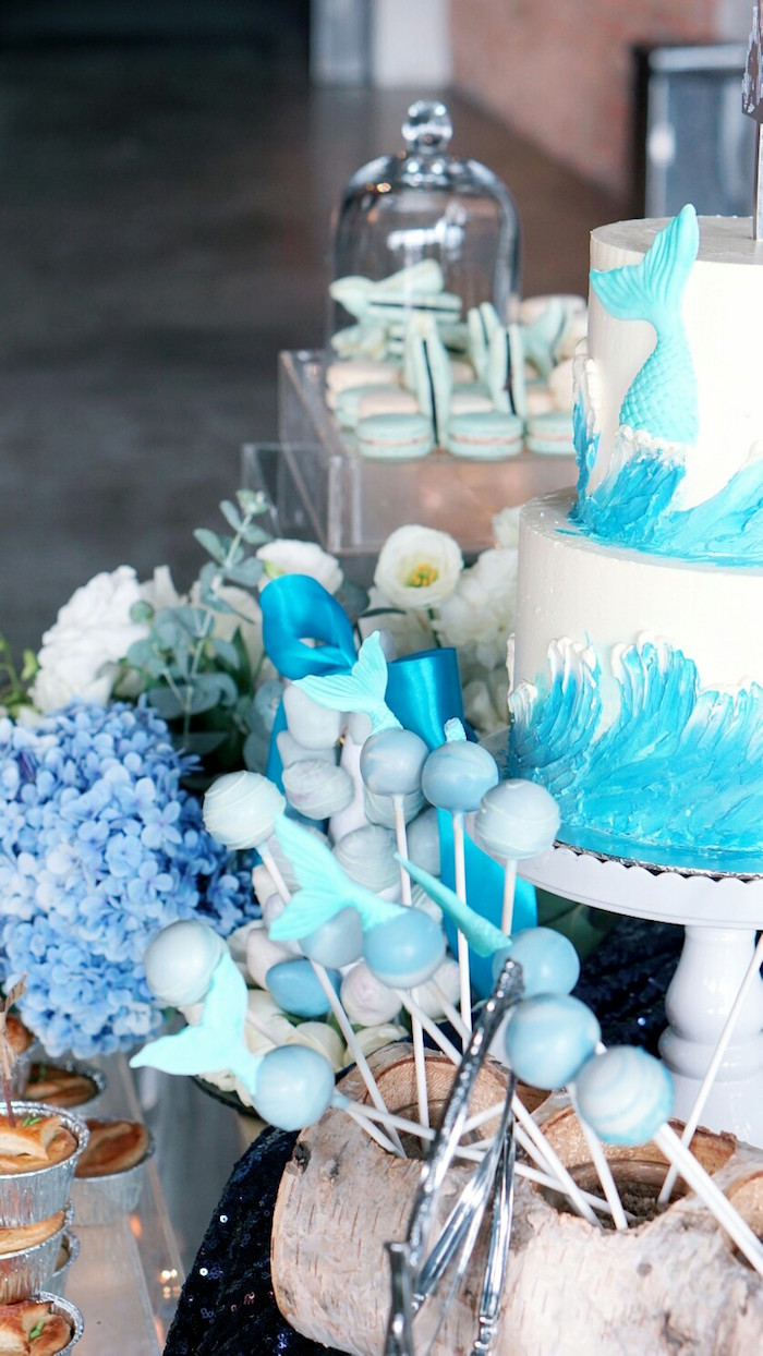 Kara S Party Ideas Atlantis Ocean Inspired Wedding