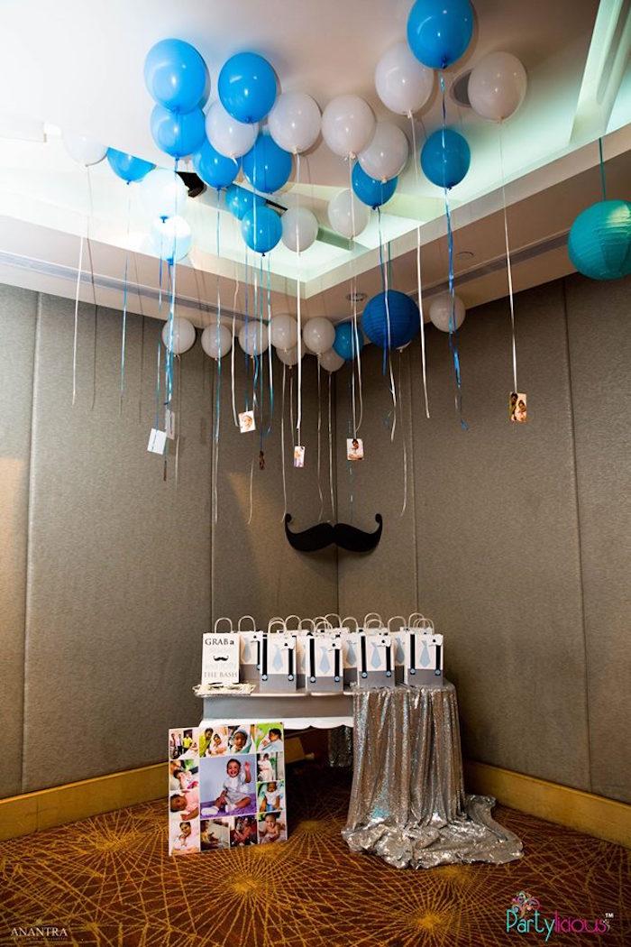 Karas Party Ideas Little Man Birthday Party Karas