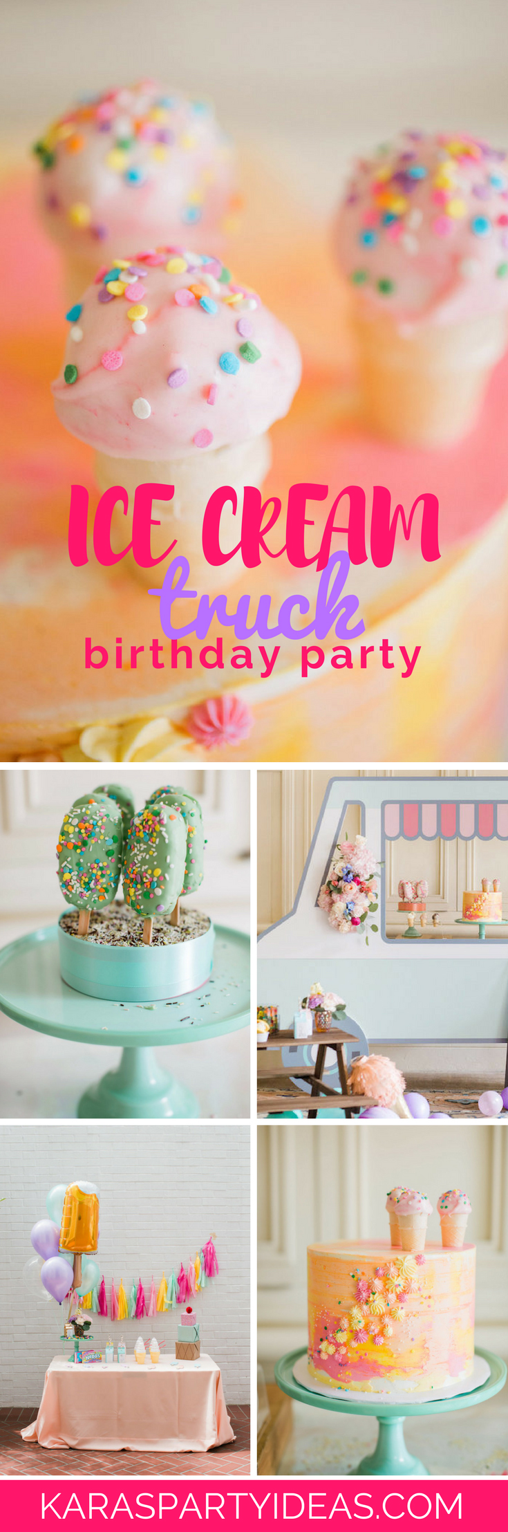 Kara S Party Ideas Ice Cream Truck Birthday Party Kara S