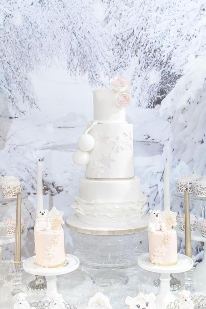 Karas Party Ideas Winter Wonderland Baby Shower Karas