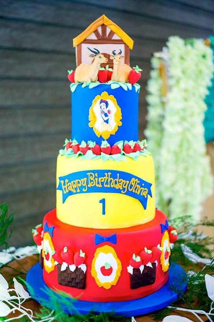 Kara S Party Ideas Snow White Enchanted Forest Birthday
