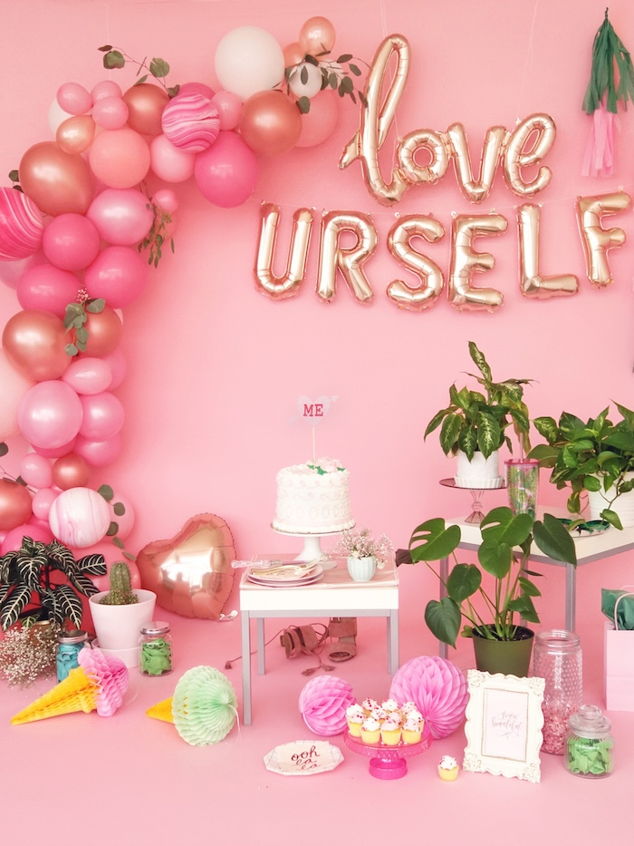 Karas Party Ideas Love Yourself Valentines Day Party