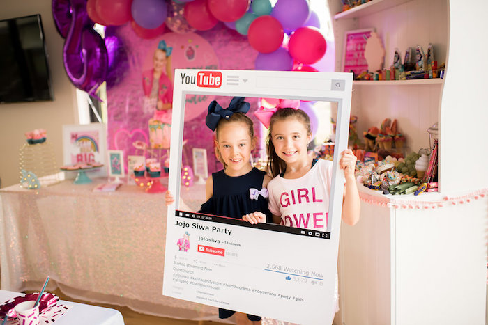 jojo siwa inspired girly birthday party