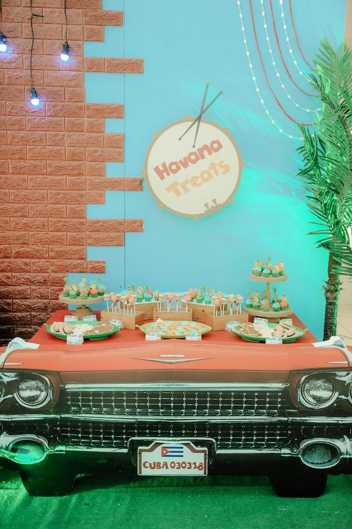 cuban inspired birthday party