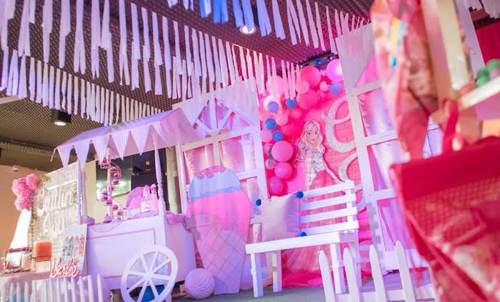 Kara S Party Ideas Barbie Ice Cream Birthday Party Kara